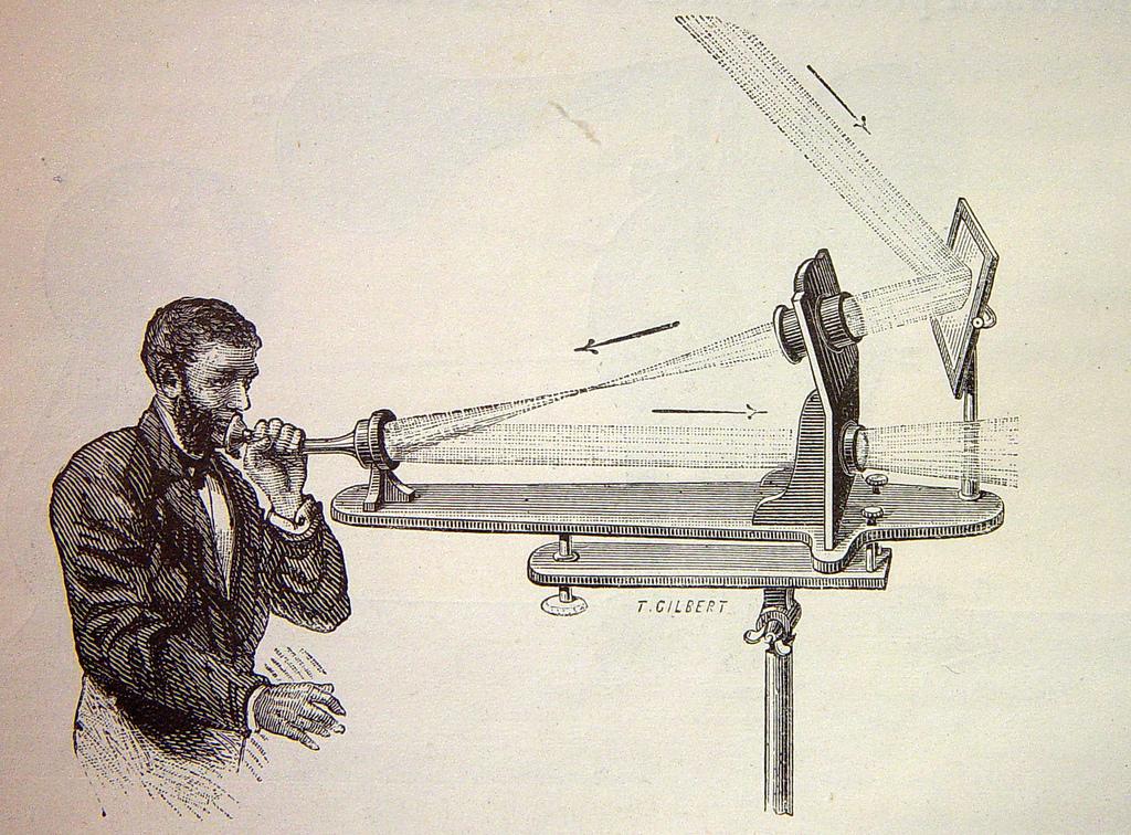 Photophone transmitter
