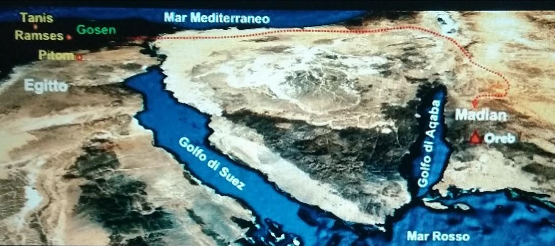 carta geografica del golfo di suez-mar rosso- golfo di aqaba
