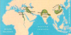 territori delle prime civiltà