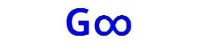 La lettera G con il simbolo dell'infinito rappresenta il nome Gogooss ed collegato con la Home del Blog: Gogooss.com