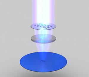 Ultravioletti per disco al silicio