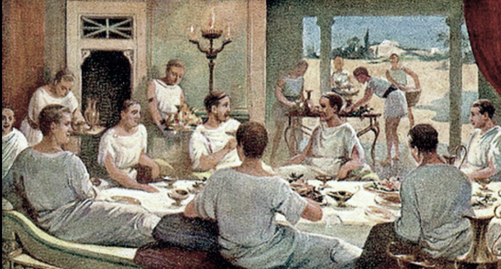 pranzi romani