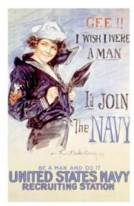 american navy poster